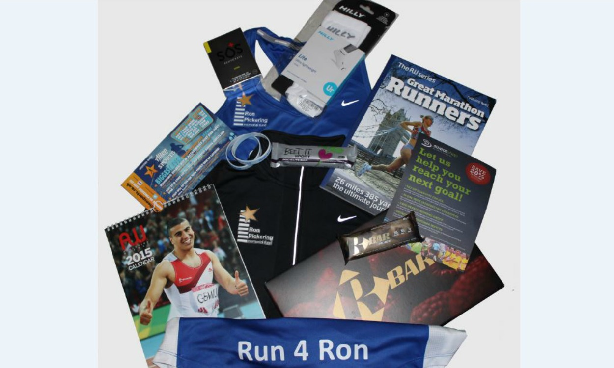 RPMF goody box for 2015 Ronners