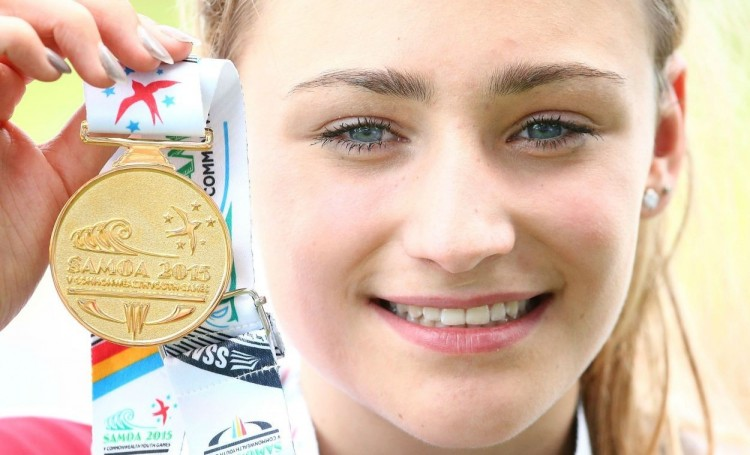Niamh Emerson. 2015 Commonwealth Youth Games High Jump Gold medallist