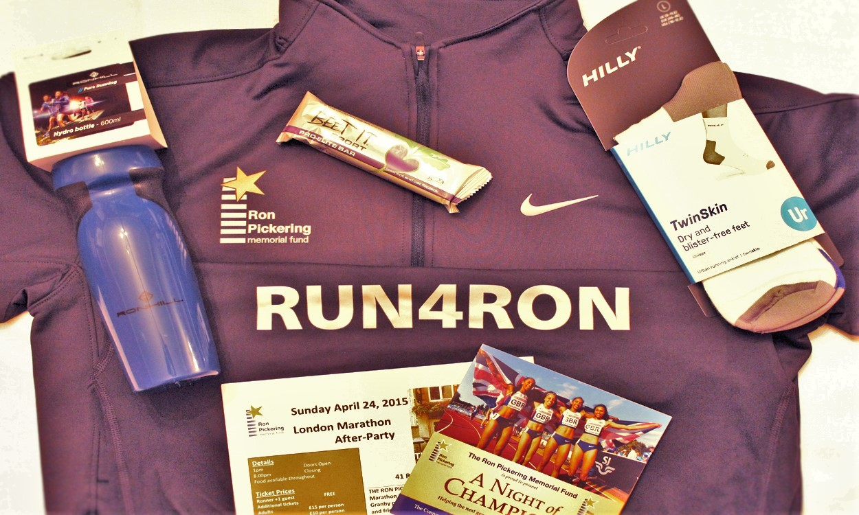 London Marathon 2016 Ronners Pack