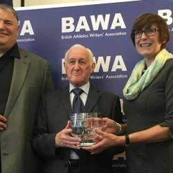 Stan Greenberg receives RPMF Memorial Award at BAWA 2016