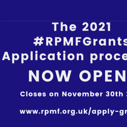 #RPMFGrants Application is now Open!