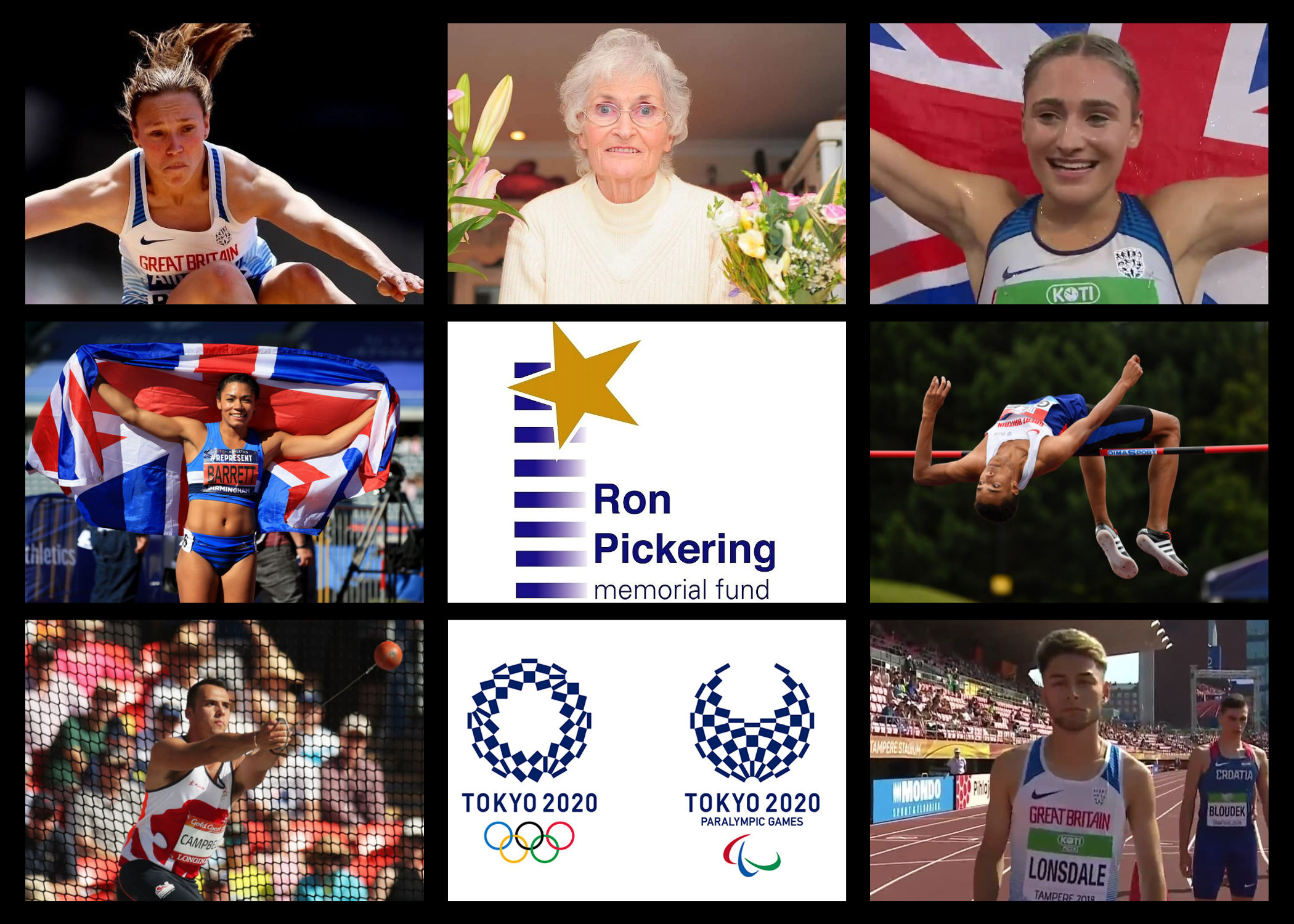 Six athletes chosen to receive Jean Pickering Olympic Scholarships for Tokyo 2020